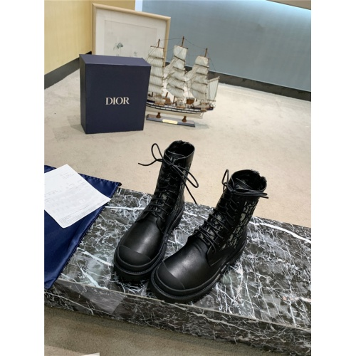 Christian Dior Boots For Women #809573 $105.00 USD, Wholesale Replica Christian Dior Boots