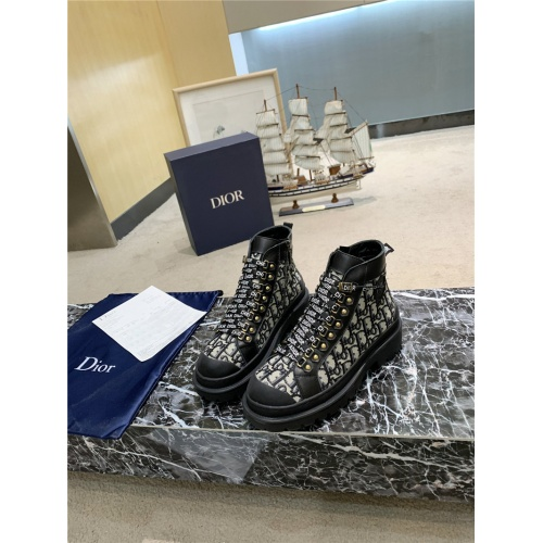 Christian Dior Boots For Women #809574 $102.00 USD, Wholesale Replica Christian Dior Boots