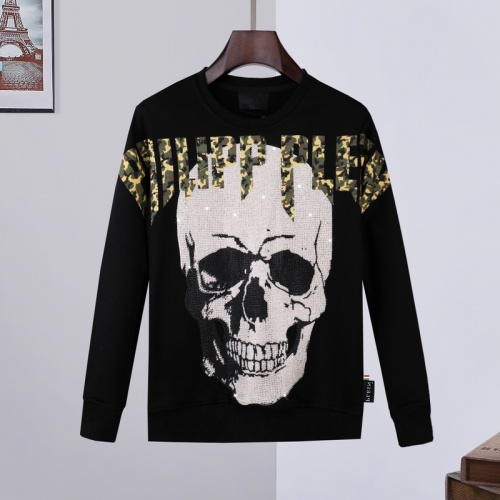 Philipp Plein PP Hoodies Long Sleeved O-Neck For Men #809707