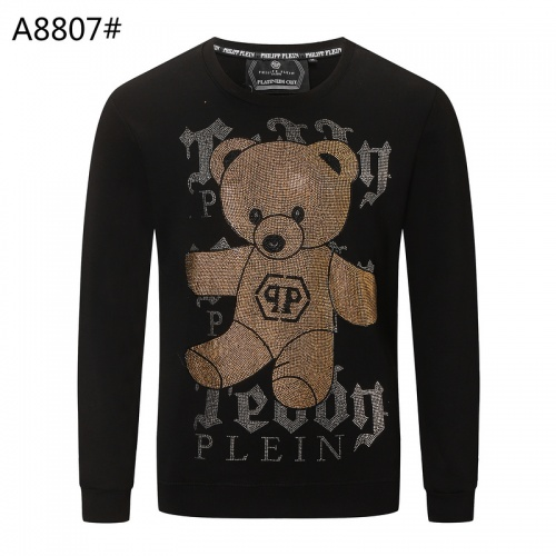 Philipp Plein PP Hoodies Long Sleeved O-Neck For Men #809709