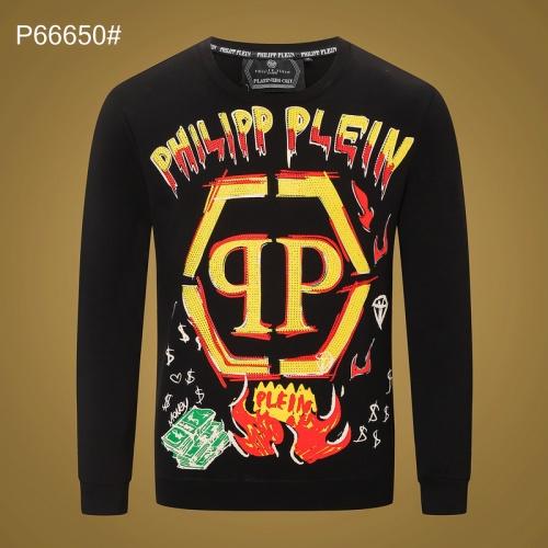 Philipp Plein PP Hoodies Long Sleeved O-Neck For Men #809710