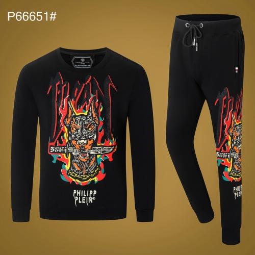 Philipp Plein PP Tracksuits Long Sleeved O-Neck For Men #809711