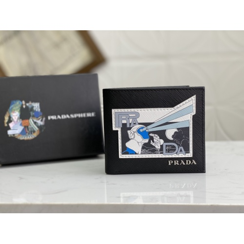 Prada AAA Man Wallets #809747