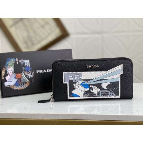 Prada AAA Man Wallets #809754