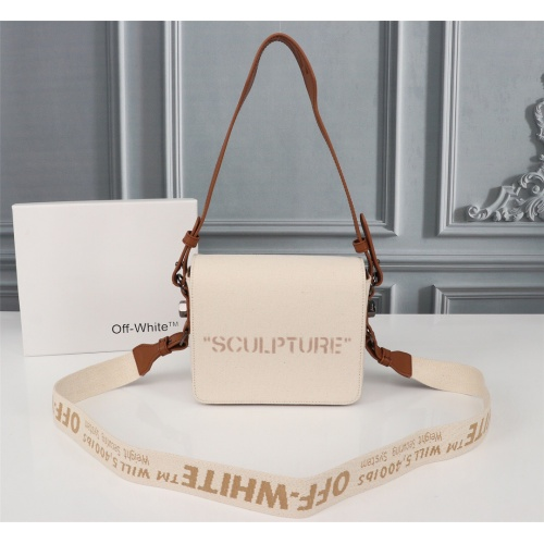 Off-White AAA Quality Messenger Bags For Women #809837