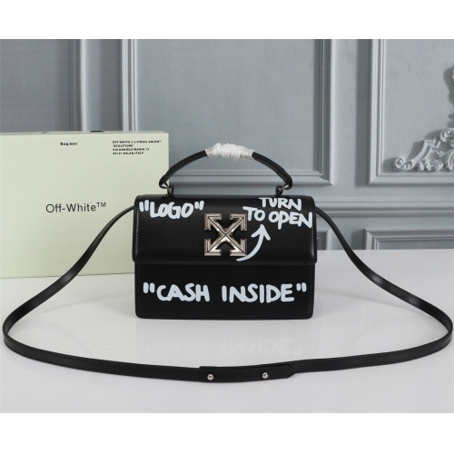 Off-White AAA Quality Messenger Bags For Women #809846 $192.00, Wholesale Replica Off-White AAA Quality Messenger Bags