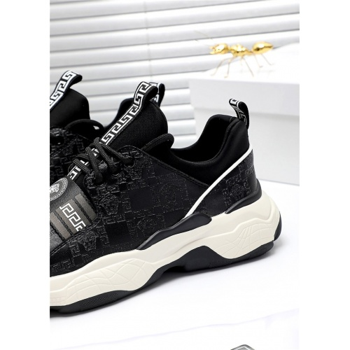 Replica Versace Casual Shoes For Men #809909 $76.00 USD for Wholesale