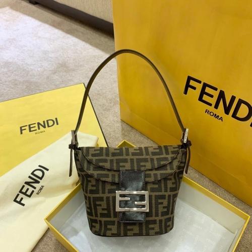 Fendi AAA Quality Handbags In 21*14*10cm For Women #809972