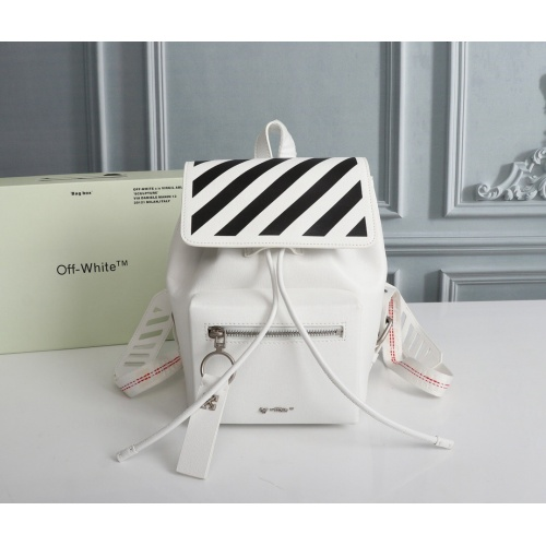 Off-White AAA Quality Backpacks For Women #810009
