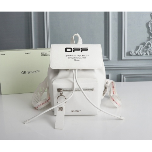Off-White AAA Quality Backpacks For Women #810011