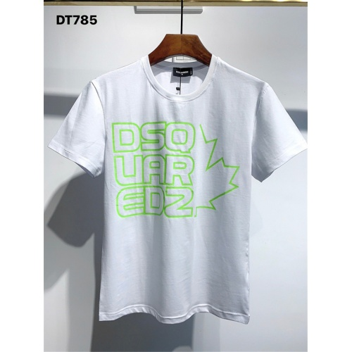 Dsquared T-Shirts Short Sleeved O-Neck For Men #810040 $25.00 USD, Wholesale Replica Dsquared T-Shirts