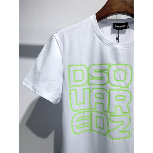 Replica Dsquared T-Shirts Short Sleeved O-Neck For Men #810040 $25.00 USD for Wholesale