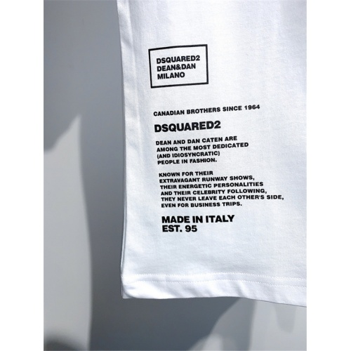 Replica Dsquared T-Shirts Short Sleeved O-Neck For Men #810048 $25.00 USD for Wholesale