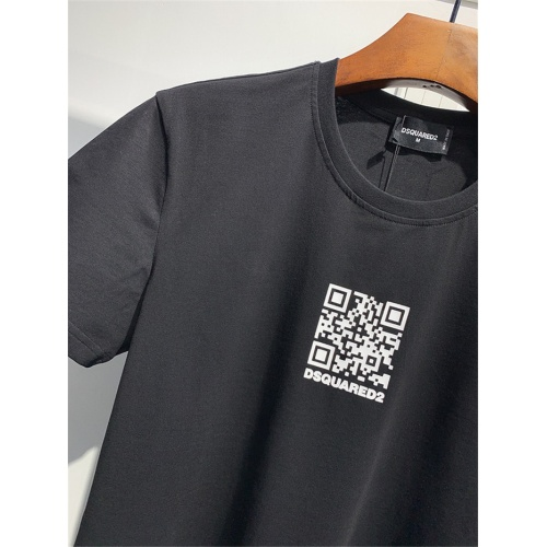 Replica Dsquared T-Shirts Short Sleeved O-Neck For Men #810051 $25.00 USD for Wholesale