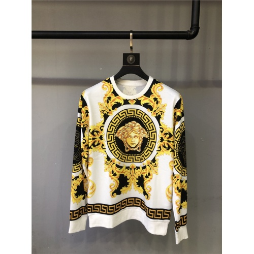 Versace Hoodies Long Sleeved O-Neck For Unisex #810071