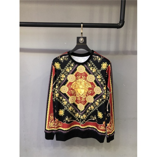 Versace Hoodies Long Sleeved O-Neck For Unisex #810072