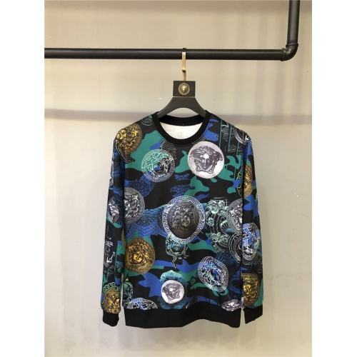 Versace Hoodies Long Sleeved O-Neck For Unisex #810074