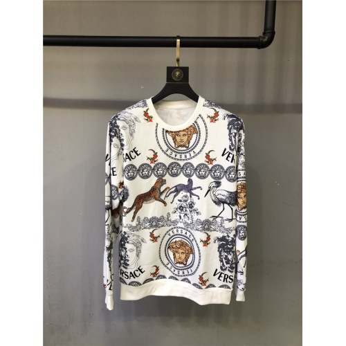 Versace Hoodies Long Sleeved O-Neck For Unisex #810075