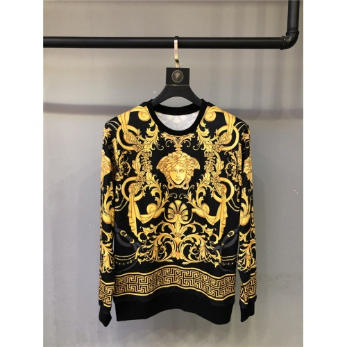 Versace Hoodies Long Sleeved O-Neck For Unisex #810079