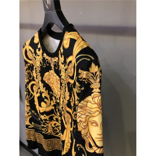 Replica Versace Hoodies Long Sleeved O-Neck For Unisex #810079 $42.00 USD for Wholesale