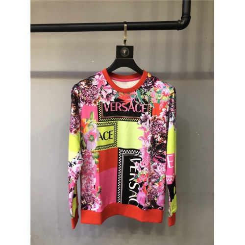 Versace Hoodies Long Sleeved O-Neck For Unisex #810086
