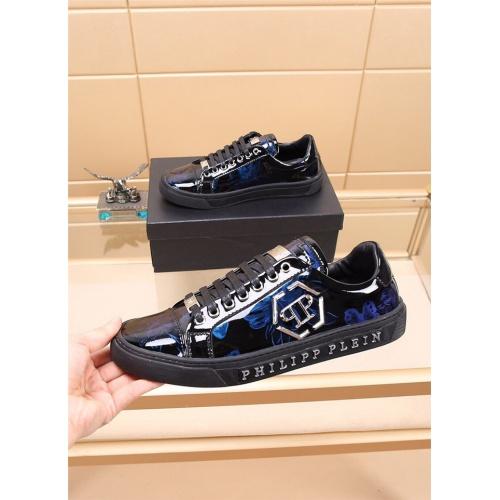 Philipp Plein PP Casual Shoes For Men #810203 $76.00, Wholesale Replica Philipp Plein Shoes
