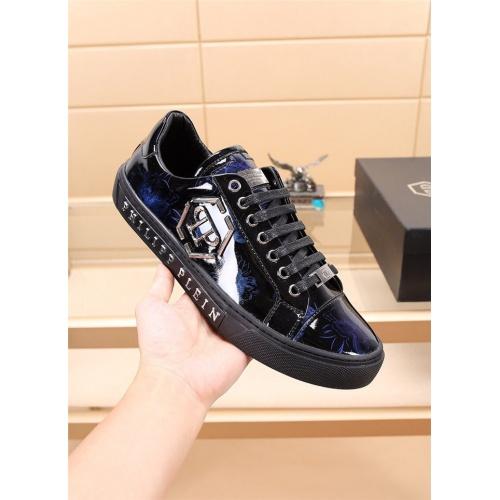 Replica Philipp Plein PP Casual Shoes For Men #810203 $76.00 USD for Wholesale