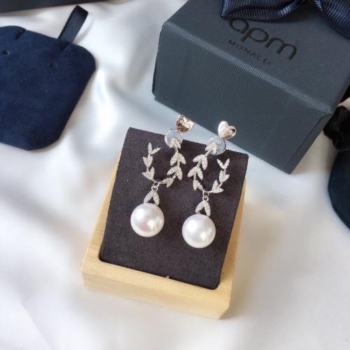 apm Monaco Earrings #810245 $36.00 USD, Wholesale Replica apm Monaco Earrings