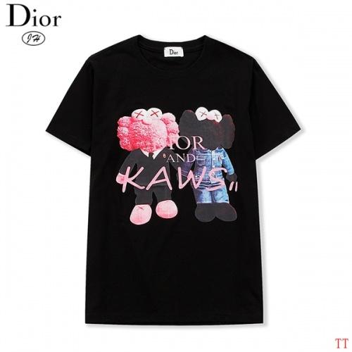Christian Dior T-Shirts Short Sleeved O-Neck For Men #810255
