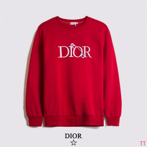 Christian Dior Hoodies Long Sleeved O-Neck For Men #810301