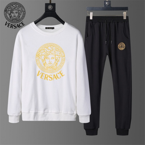 Versace Tracksuits Long Sleeved O-Neck For Men #810484 $56.00 USD, Wholesale Replica Versace Tracksuits