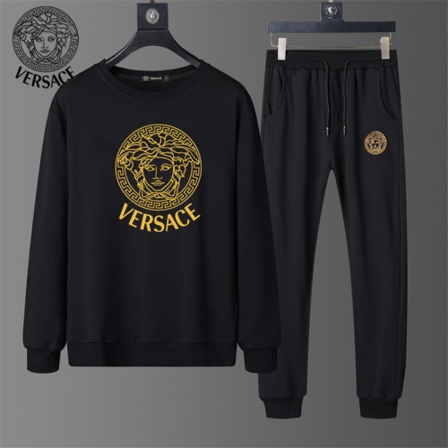 Versace Tracksuits Long Sleeved O-Neck For Men #810485 $56.00 USD, Wholesale Replica Versace Tracksuits