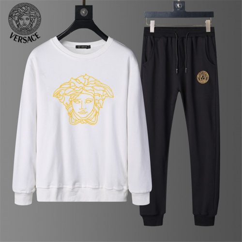 Versace Tracksuits Long Sleeved O-Neck For Men #810486 $56.00 USD, Wholesale Replica Versace Tracksuits