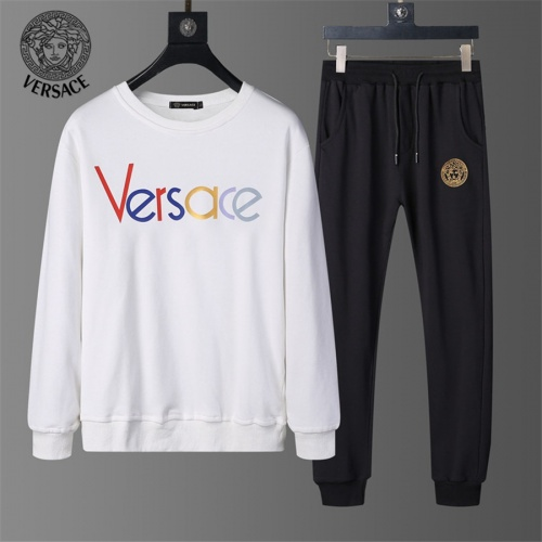 Versace Tracksuits Long Sleeved O-Neck For Men #810490 $56.00 USD, Wholesale Replica Versace Tracksuits