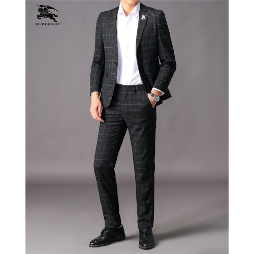 Burberry Two-Piece Suits Long Sleeved For Men #810524
