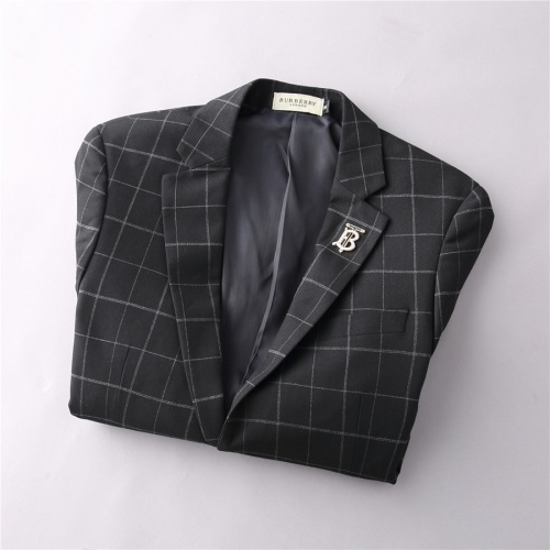 Replica Burberry Two-Piece Suits Long Sleeved For Men #810524 $88.00 USD for Wholesale