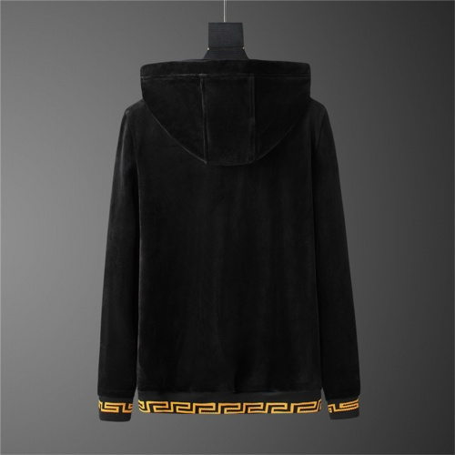Replica Versace Tracksuits Long Sleeved Zipper For Men #810572 $98.00 USD for Wholesale