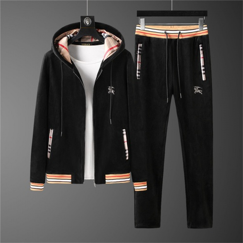 Burberry Tracksuits Long Sleeved Zipper For Men #810573