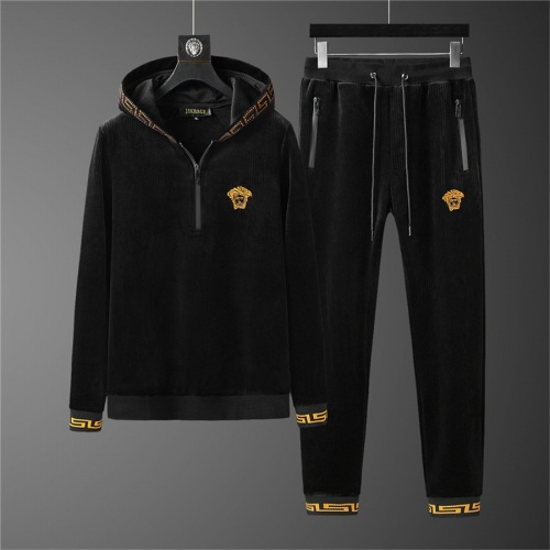 Versace Tracksuits Long Sleeved Zipper For Men #810585 $98.00 USD, Wholesale Replica Versace Tracksuits