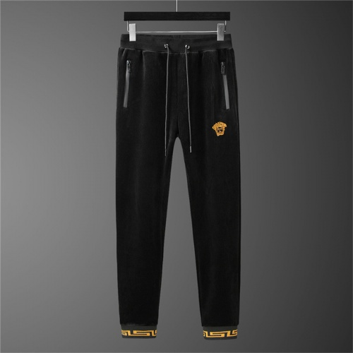 Replica Versace Tracksuits Long Sleeved Zipper For Men #810585 $98.00 USD for Wholesale