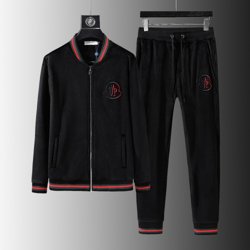 Moncler Tracksuits Long Sleeved Zipper For Men #810591
