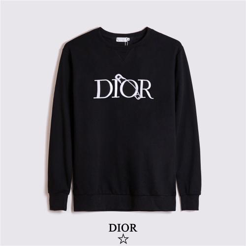 Christian Dior Hoodies Long Sleeved O-Neck For Men #810621