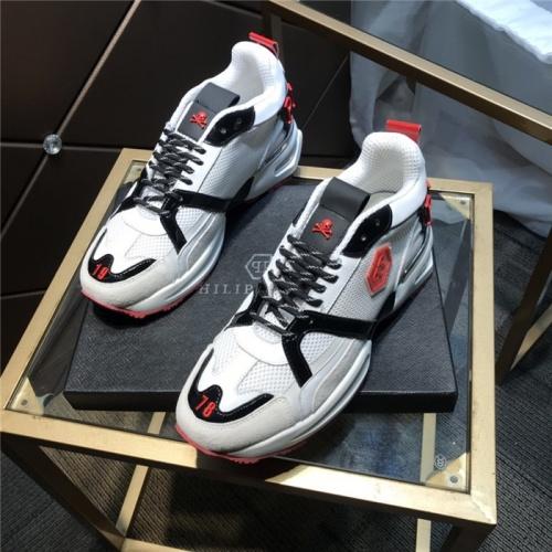 Philipp Plein PP Casual Shoes For Men #810639 $115.00, Wholesale Replica Philipp Plein Shoes