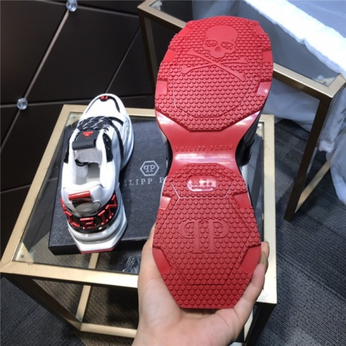Replica Philipp Plein PP Casual Shoes For Men #810639 $115.00 USD for Wholesale