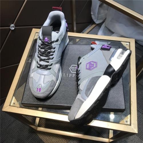 Replica Philipp Plein PP Casual Shoes For Men #810640 $115.00 USD for Wholesale