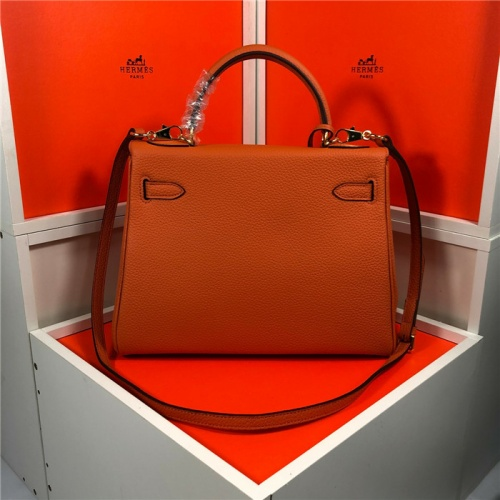 Replica Hermes AAA Quality Handbags For Women #810709 $101.00 USD for Wholesale