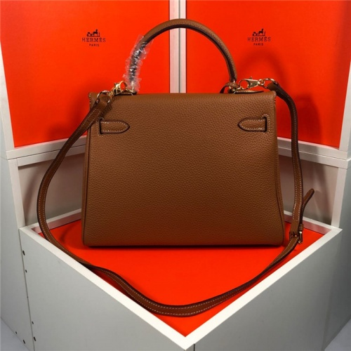 Replica Hermes AAA Quality Handbags For Women #810712 $101.00 USD for Wholesale