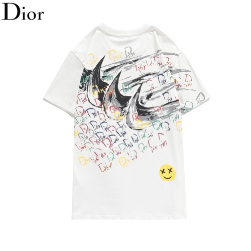 Christian Dior T-Shirts Short Sleeved O-Neck For Men #810715 $32.00 USD, Wholesale Replica Christian Dior T-Shirts