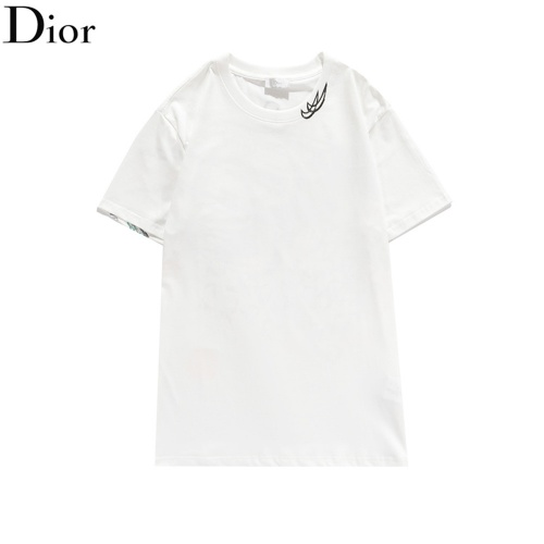 Replica Christian Dior T-Shirts Short Sleeved O-Neck For Men #810715 $32.00 USD for Wholesale