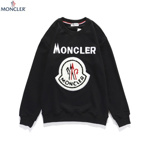 Moncler Hoodies Long Sleeved O-Neck For Men #810754